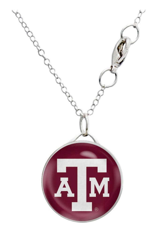 Texas A&M Aggies Domed Necklace - Image 1
