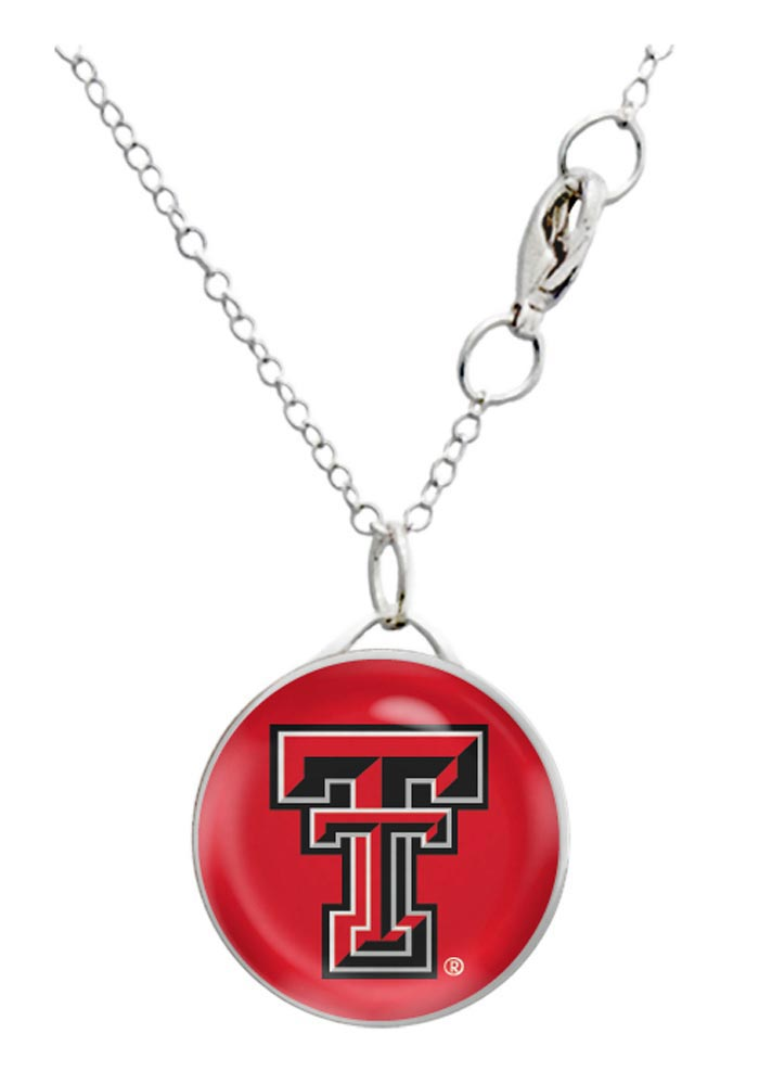 Texas Tech Red Raiders Domed Necklace - Image 1