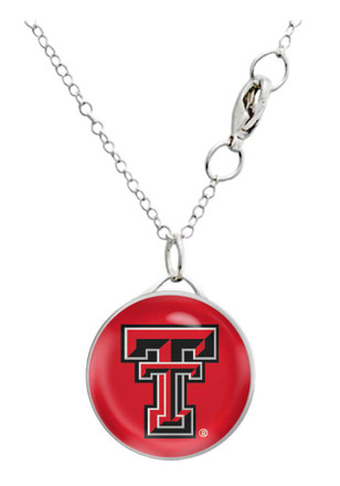 Texas Tech Red Raiders Domed Necklace