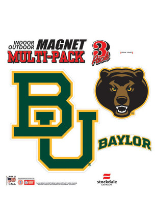 Baylor Bears 12x12 Multi Pack Car Accessory Car Magnet