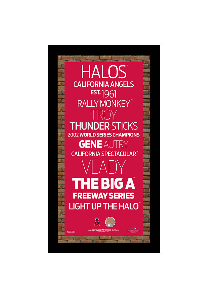 Los Angeles Angels Subway Sign Plaque - Image 1
