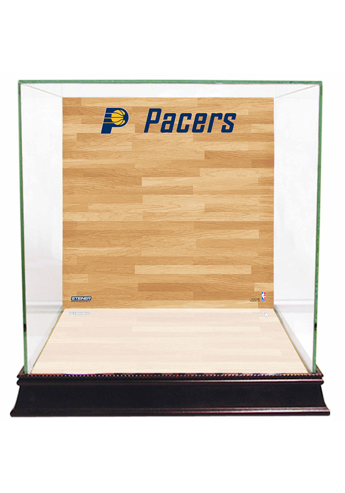 Indiana Pacers Brown 12x12x11 Display Case - Image 1