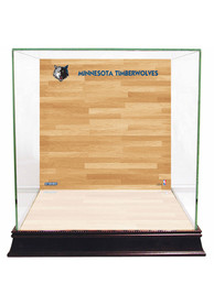 Minnesota Timberwolves Brown 12x12x11 Display Case