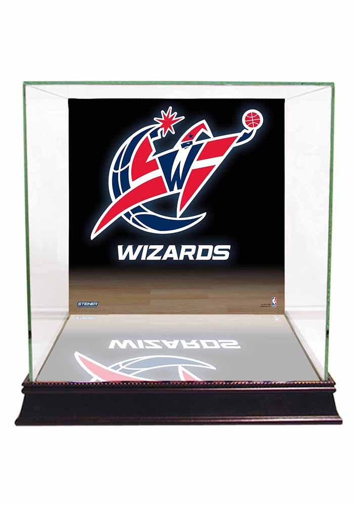 Washington Wizards Brown 12x12x11 Display Case - Image 1