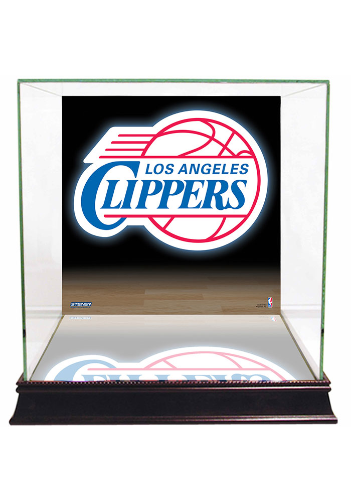 Los Angeles Clippers Brown 12x12x11 Display Case - Image 1
