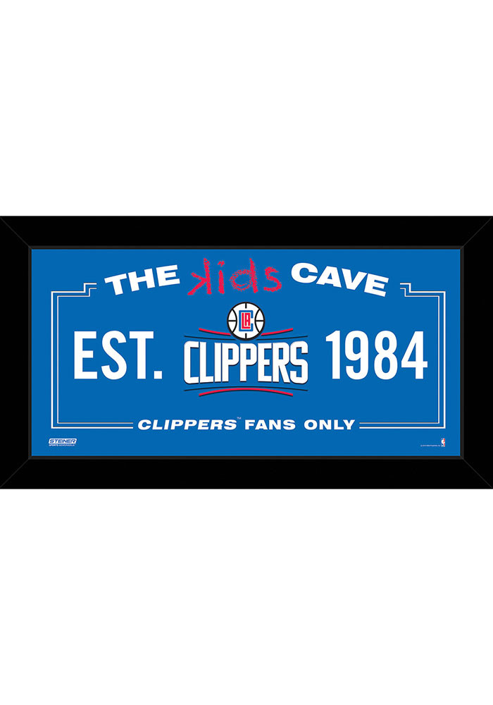 Los Angeles Clippers 10x20 Framed Posters - Image 1