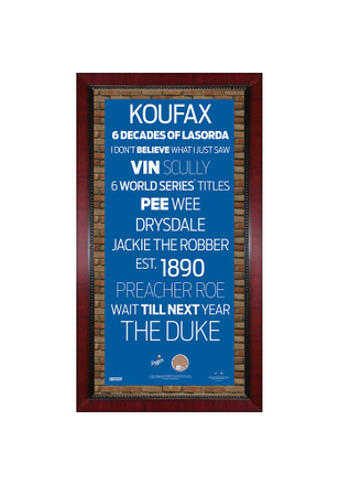 Los Angeles Dodgers 16x32 Framed Posters