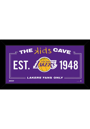 Los Angeles Lakers 10x20 Framed Posters