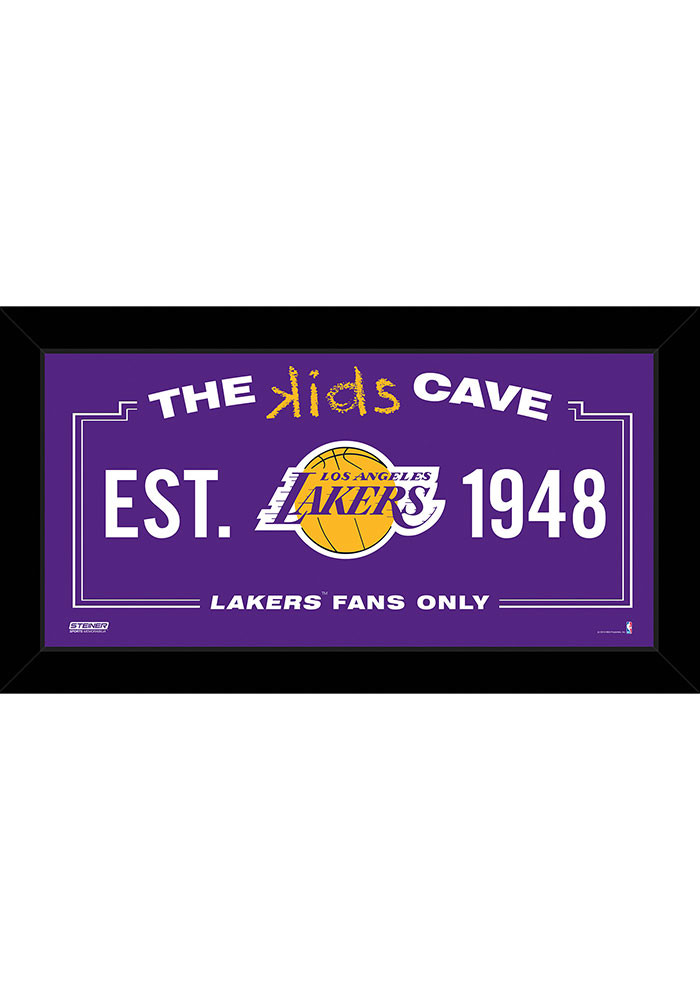 Los Angeles Lakers 10x20 Framed Posters - Image 1