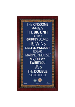 Seattle Mariners 16x32 Framed Posters