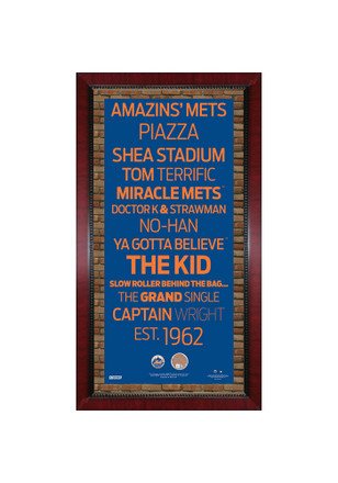 New York Mets 16x32 Framed Posters