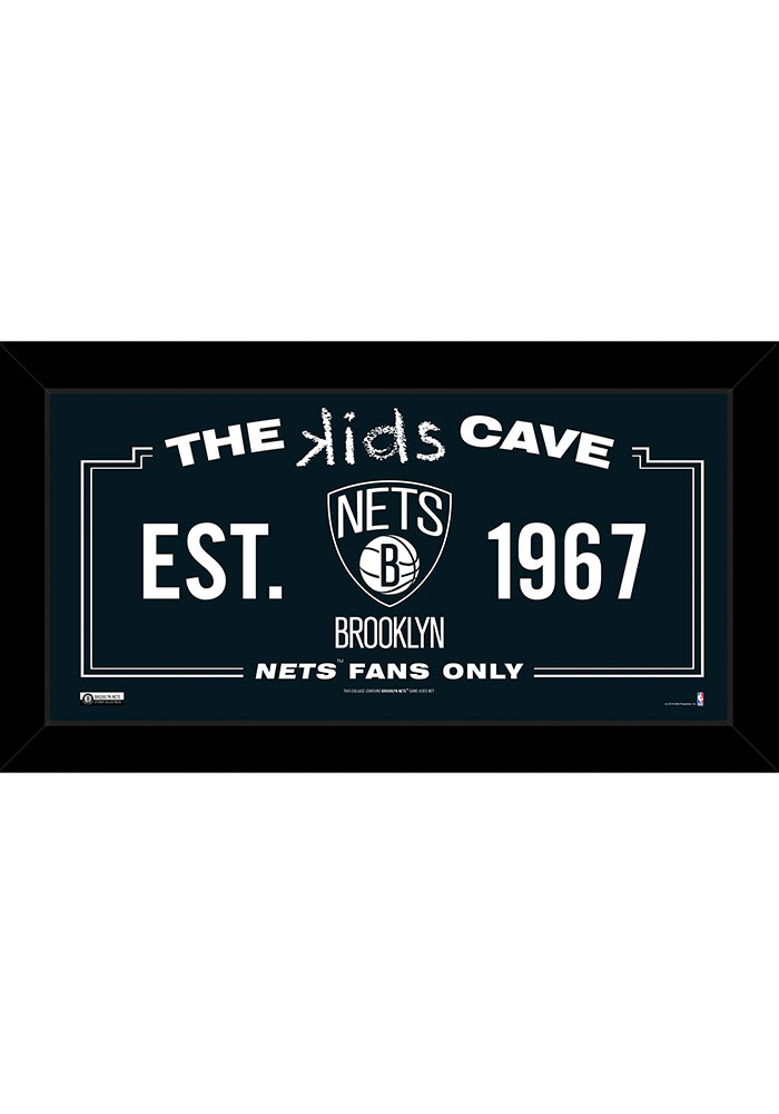 Brooklyn Nets 10x20 Framed Posters - Image 1