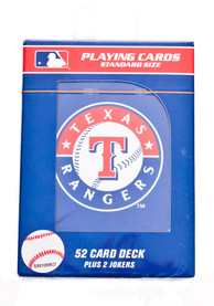 Texas Rangers Team Logo Playing Cards