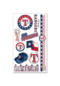 Texas Rangers Sheet Tattoo