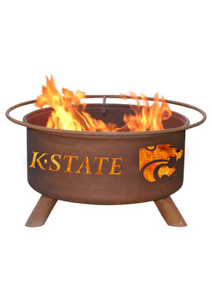 K-State Wildcats 30x16 Fire Pit
