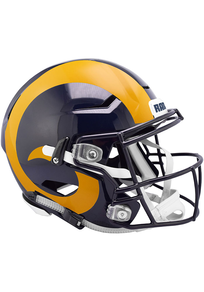 Los Angeles Rams SpeedFlex Full Size Football Helmet - Image 1