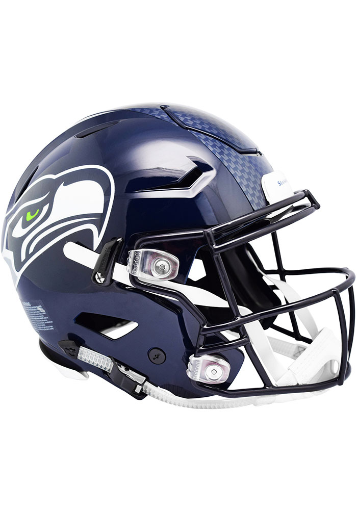 Seattle Seahawks SpeedFlex Full Size Football Helmet - Image 1