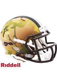 Cleveland Browns Camo Speed Mini Helmet