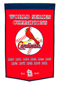 St Louis Cardinals 24x38 Dynasty Banner
