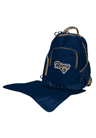 St Louis Rams Navy Blue diaper backpack Tote