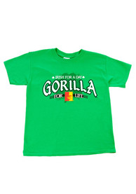 Pitt State Gorillas Youth Green Irish For A Day T-Shirt