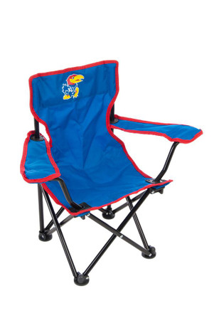 Kansas Jayhawks Blue Toddler Chair