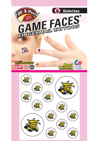 Wichita State Shockers Peel Stick Fingernail Tattoo