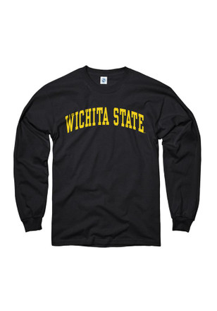 WSU Mens Black Arch Tee