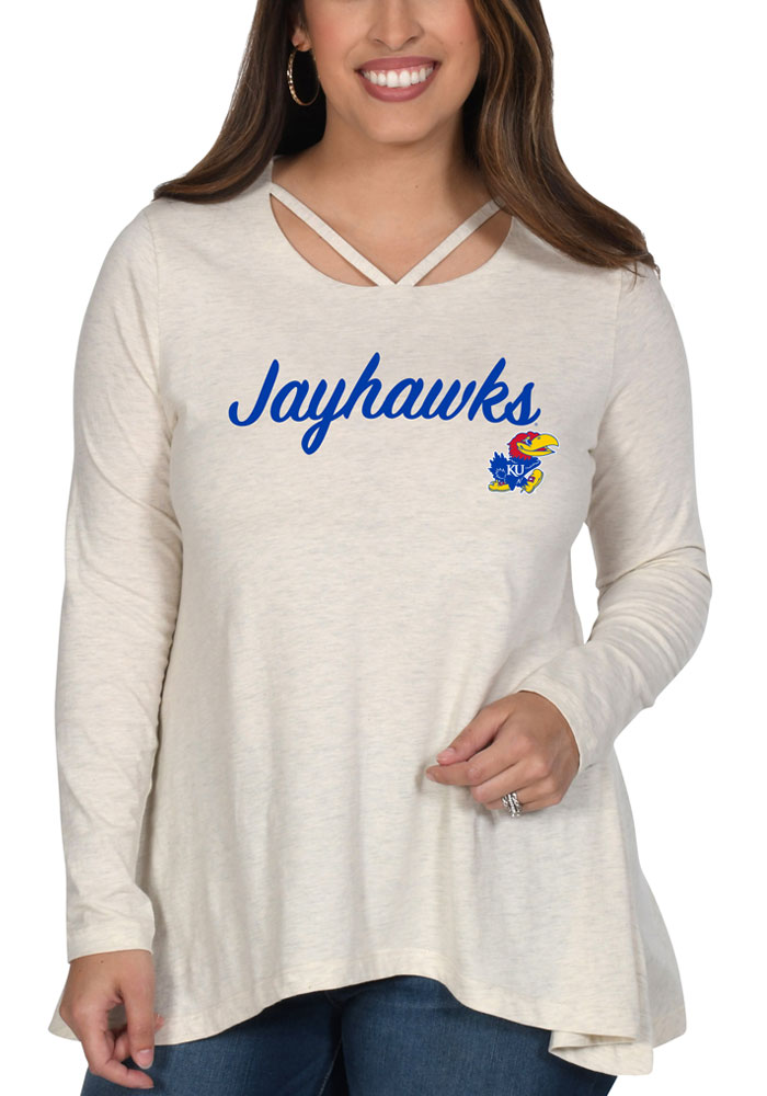 Kansas Jayhawks Womens Strappy T-Shirt -