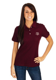 Texas A&M Aggies Womens Cutter and Buck Ace Polo Shirt - Red