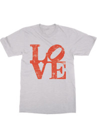 Rally Philadelphia Youth White Love Short Sleeve T Shirt