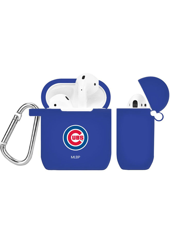 Chicago Cubs Silicone AirPod Keychain