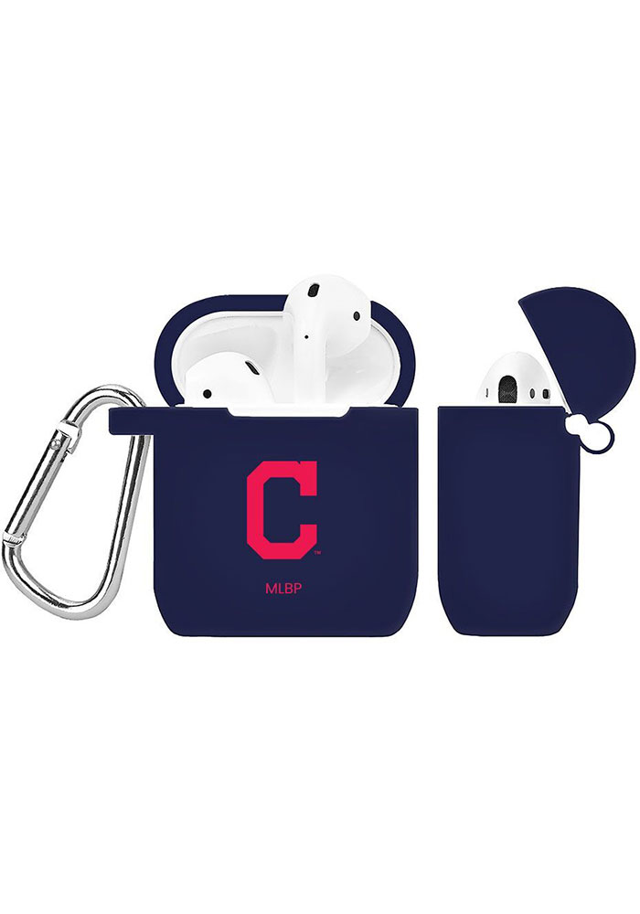 Cleveland Indians Silicone AirPod Keychain - Image 1