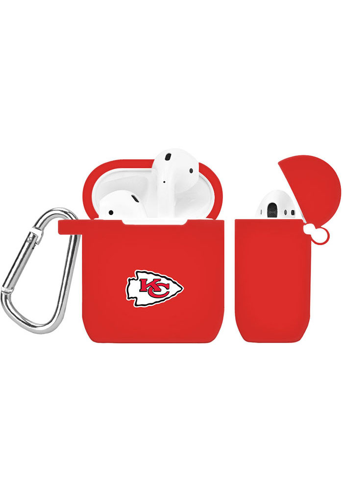 Kansas City Chiefs Silicone AirPod Keychain - Image 1