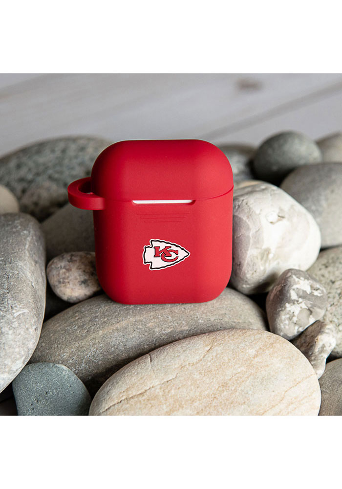 Kansas City Chiefs Silicone AirPod Keychain - Image 2