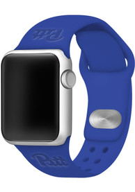 Pitt Panthers Debossed Silicone Apple Watch Band - Blue