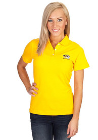 Missouri Tigers Womens Cutter and Buck Gold Ace Polo Shirt - Gold