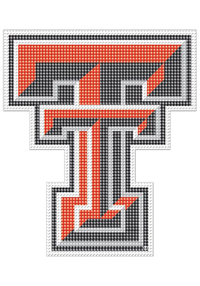 Texas Tech Red Raiders 8x8 Perforated Decal - Image 1
