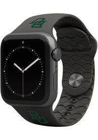 Baylor Bears Groove Life 42mm Silicone Apple Watch Band - Black