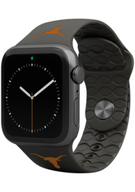 Texas Longhorns Groove Life 38mm Silicone Apple Watch Band - Black