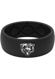 Chicago Bears Groove Life Black Silicone Ring - Black