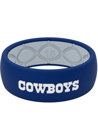Dallas Cowboys Groove Life Full Color Silicone Ring - Navy Blue