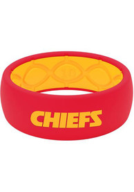Kansas City Chiefs Groove Life Full Color Silicone Ring - Red