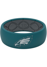 Philadelphia Eagles Groove Life Full Color Silicone Ring - Green