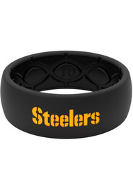 Pittsburgh Steelers Groove Life Full Color Silicone Ring - Yellow