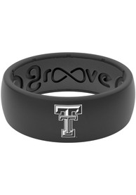 Texas Tech Red Raiders Groove Life Black Silicone Ring - Black