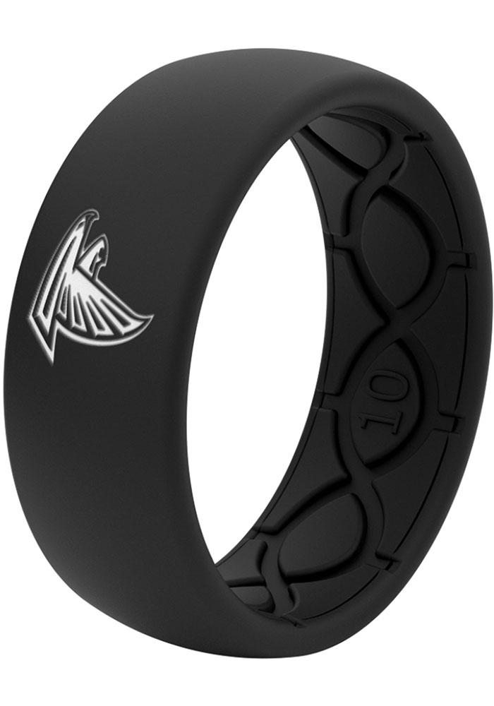 Atlanta Falcons Black Silicone Mens Ring - Image 2