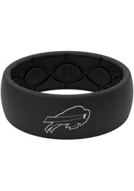 Buffalo Bills Black Silicone Ring - Black
