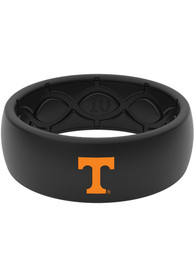 Tennessee Volunteers Color Logo Silicone Ring - Black