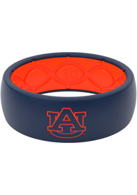 Auburn Tigers Full Color Silicone Ring - Blue